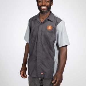 Utepils-Unisex-Work-Shirt-Frontview