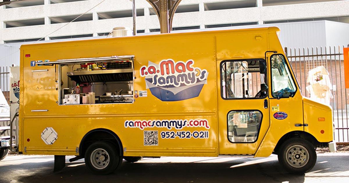 Minneapolis Food Truck Map